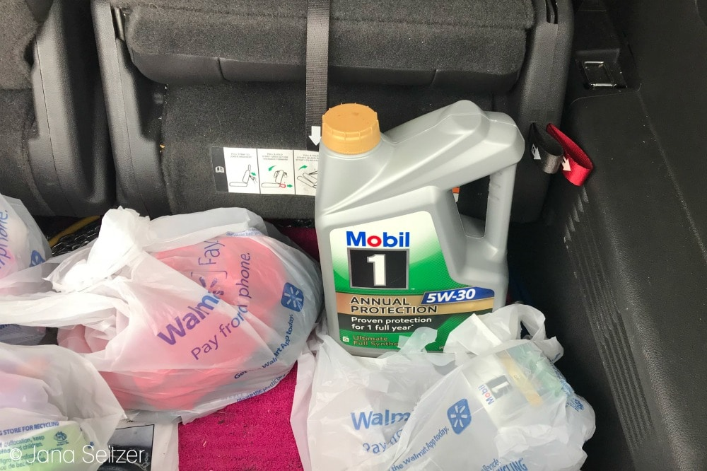 Car Care Essentials – Oil Change with Mobil 1 Annual Protection
