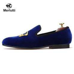 Royal Blue Loafer King's Crown