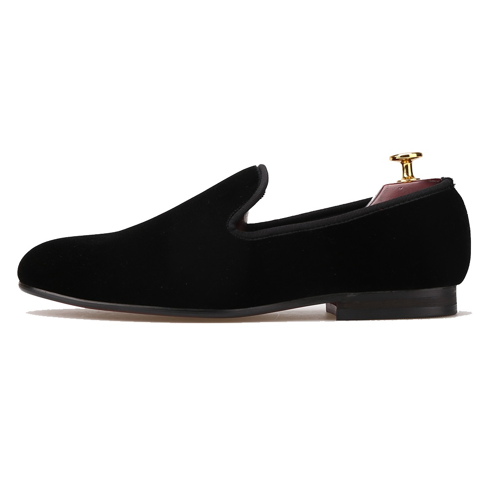 PLAIN VELVET LOAFER