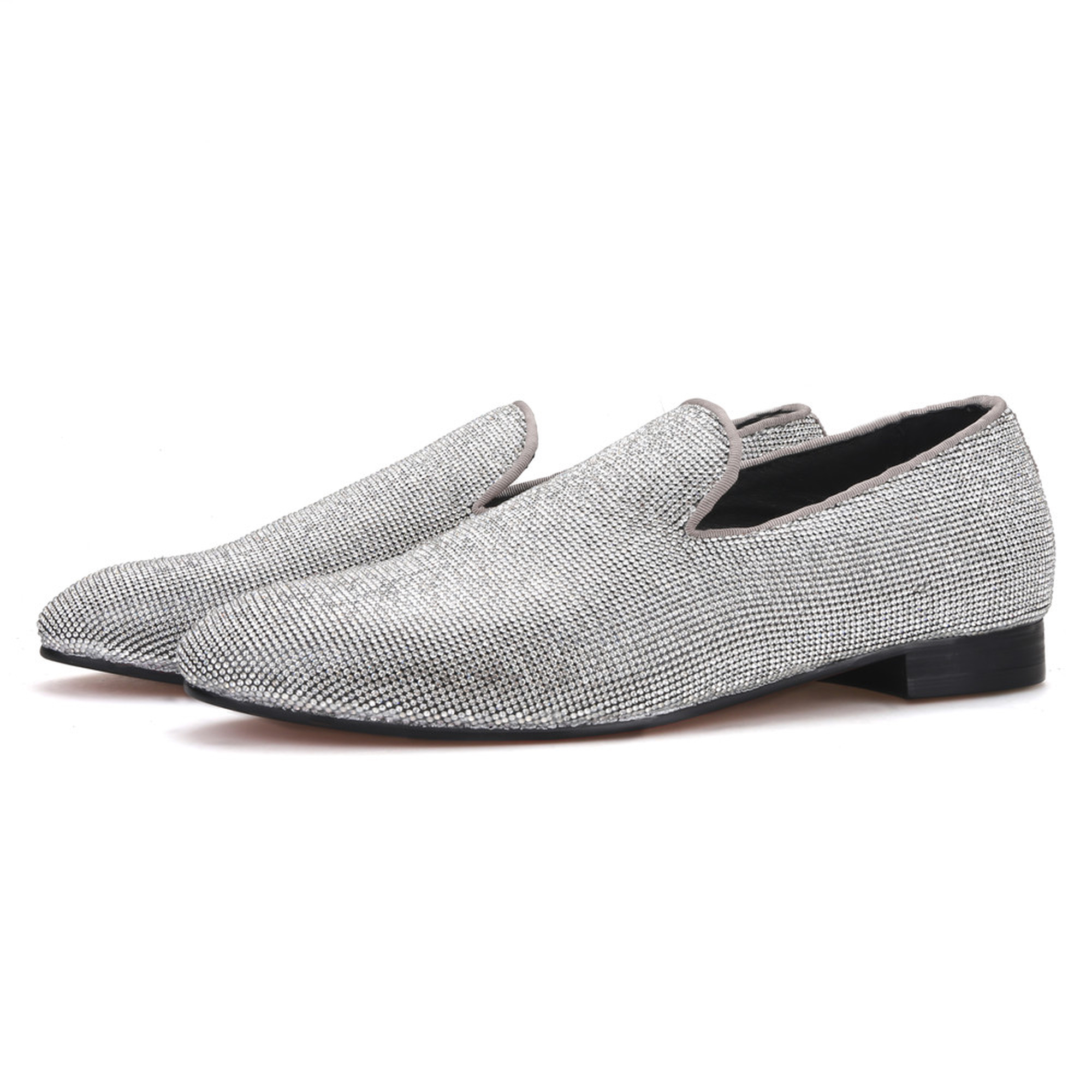 Silver Loafer IcedOut Diamond Spark