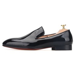 Black Patent Leather Flat