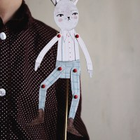 Atticus the Bunny Paper Toy