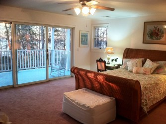 beach bedrooms cottage bedroom master sliding door glass suite panel room veranda morning bed masterbedroom sea virginia sunset tag lull