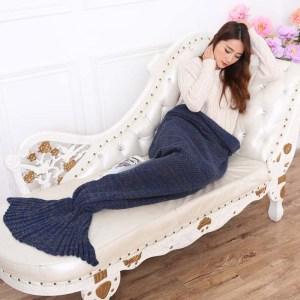 Aquarius Blanket Navy 4