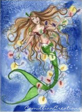 Say Merry Christmas With Mermaids Mermaid Cottages On