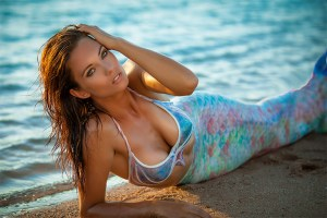 A beautiful mermaid in Perth