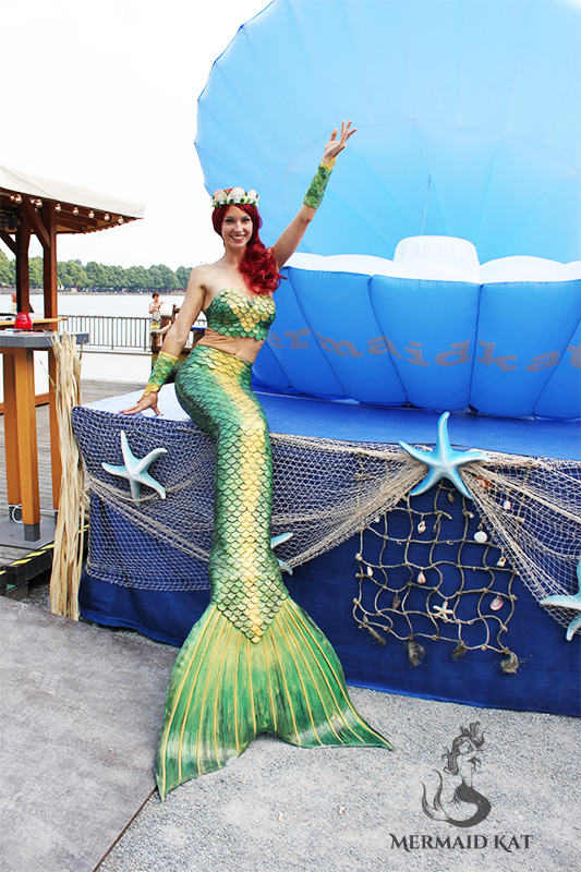 Book a mermaid in Perth