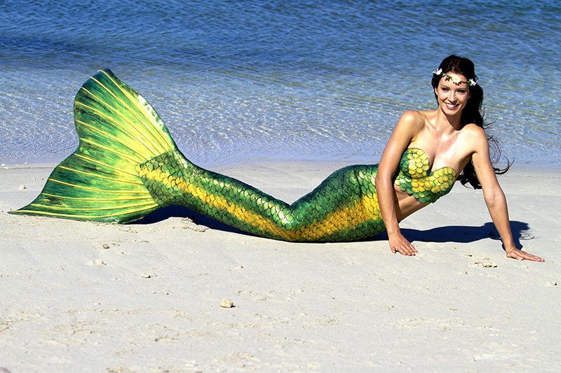environmental friendly beauty tips for the beach by Mermaid Kat