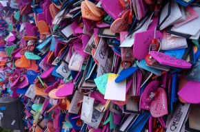 Did I mention there were a lot of love locks?
