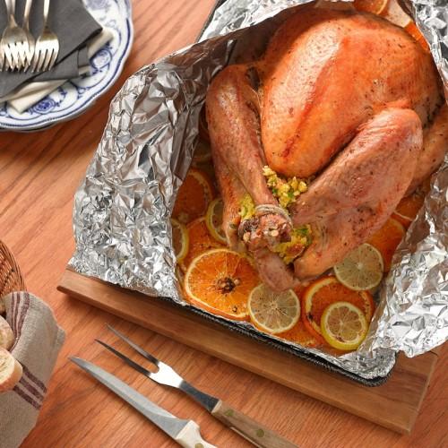 Citrus Brined Grilled Turkey