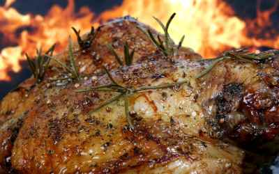 Grilled Jerk Turkey Breast Recipe