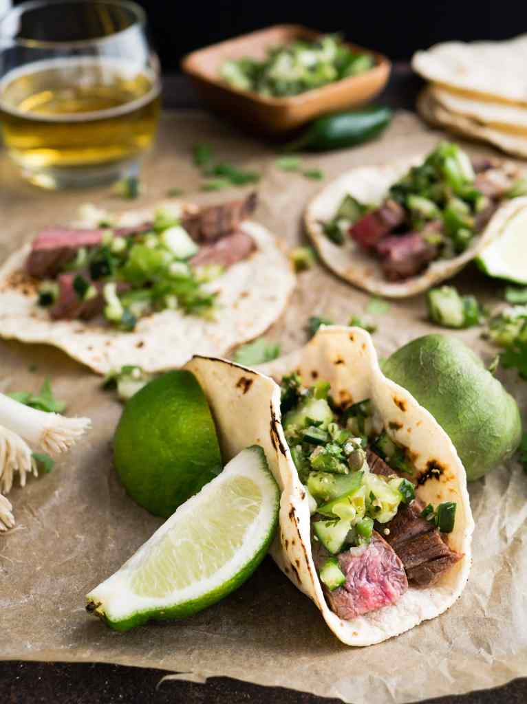 Beef tacos - Beef Deshebrada