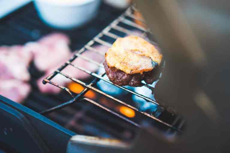 Aloha Burger with Teriyaki Sauce