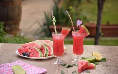 Mango Watermelon Lemonade
