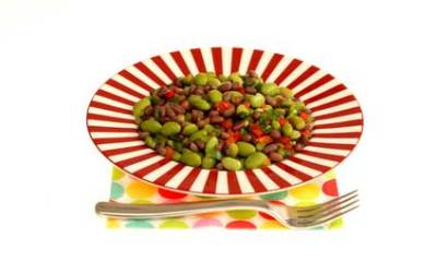 Three Bean Edamame Salad