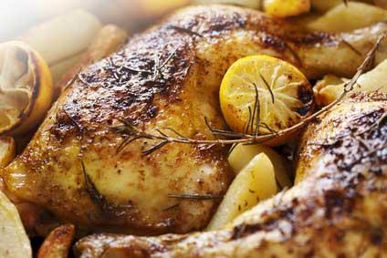 Easy lemon rosemary grilled chicken
