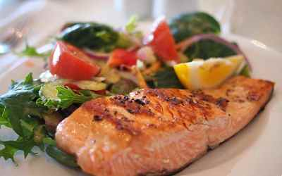 Lemon Rosemary Grilled Salmon Recipe