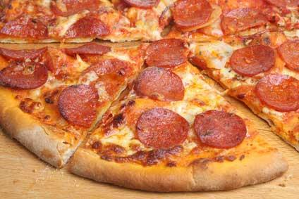 Easy Campfire Pepperoni Pizza