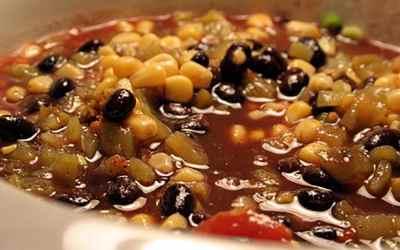 Smoked Salmon Black Bean Chili Recipe