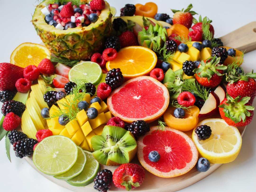 fruits - berries and citrus