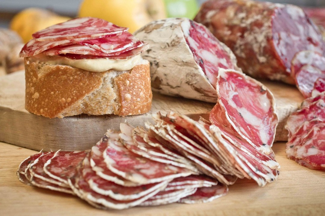 sliced soppressata