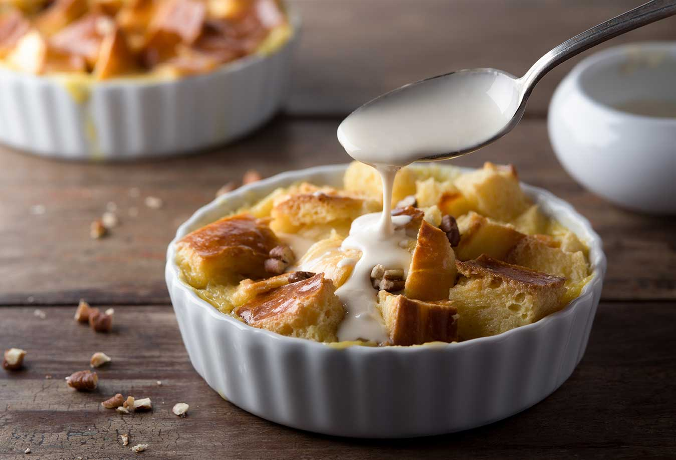 Classic New Orleans-Style Bread Pudding via @mermaidsandmojitos