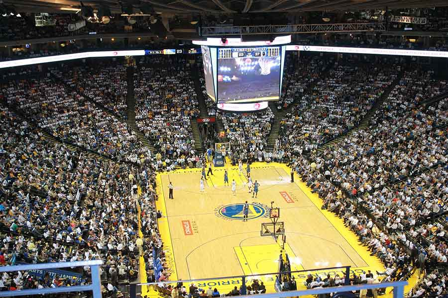 Attend a sporting event like basketball or hockey