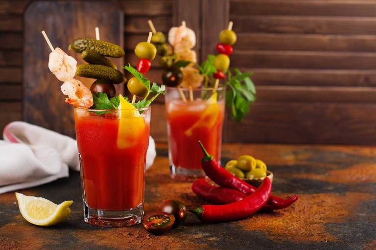 Ragin' Cajun Bloody Mary