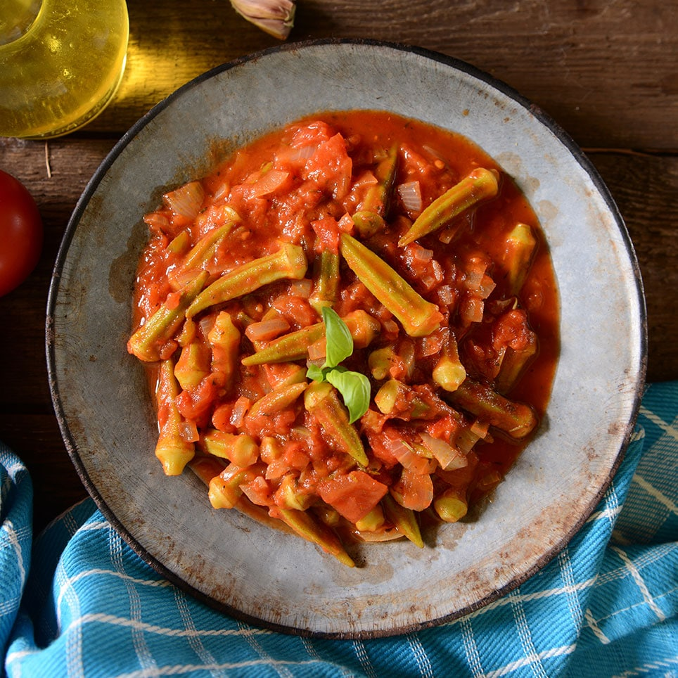 Chicken & Okra Creole Recipe via @mermaidsandmojitos