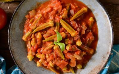 Chicken & Okra Creole Recipe