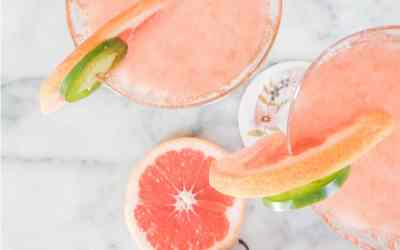 Best Paloma Recipe - Tequila, Fresh Pink Grapefruit - cropped