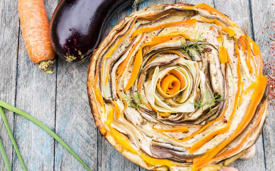 Rosette Italian Vegetable Tart