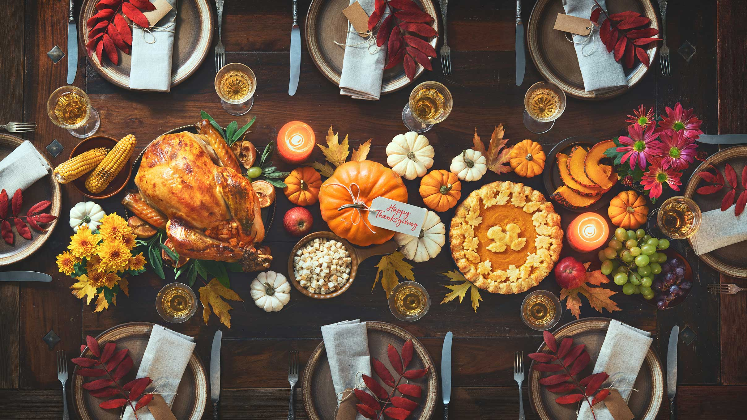 11 Stress-free Thanksgiving Menus via @mermaidsandmojitos