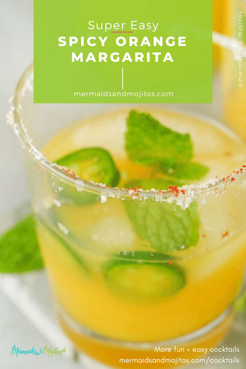 Spicy Orange Muddled Margarita Recipe