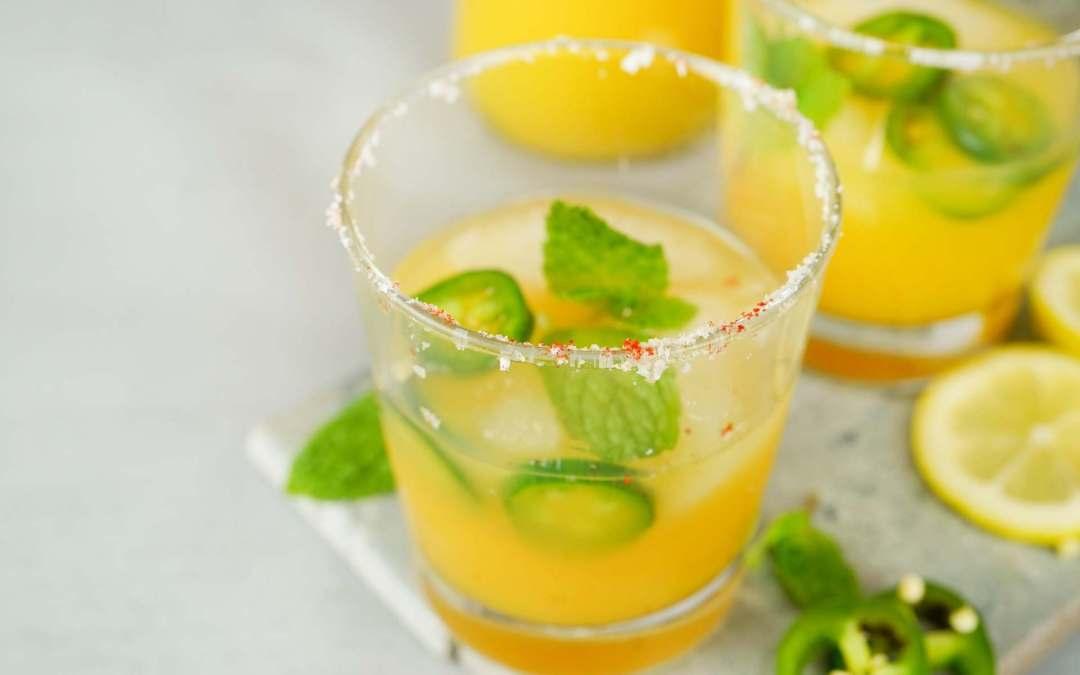 Spicy Orange Muddled Margarita Recipe