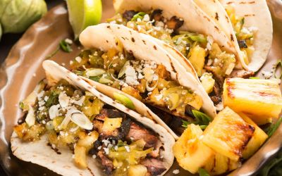 Skinny Pork Al Pastor with Pineapple Salsa