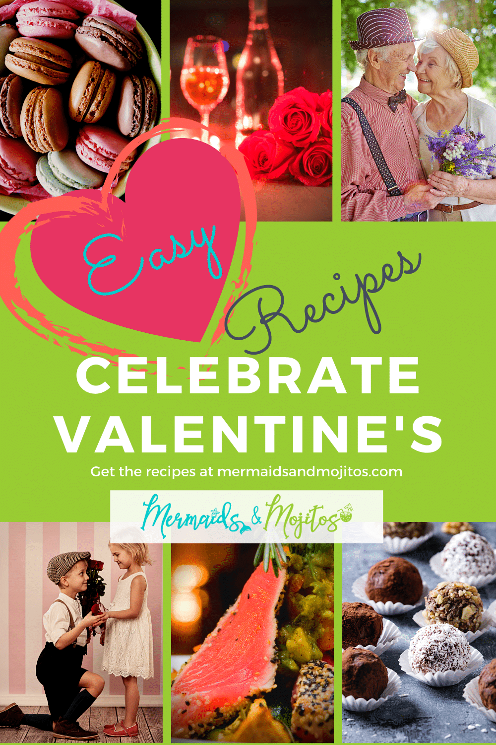 35 Romantic Valentine's Day Recipes. There is nothing better than cooking a romantic dinner and enjoying Valentine's Day dinner at home.  Making a romantic dinner at home can be fun and easy - just stick with elegant, simple meals that come together in no time and are super easy to make.