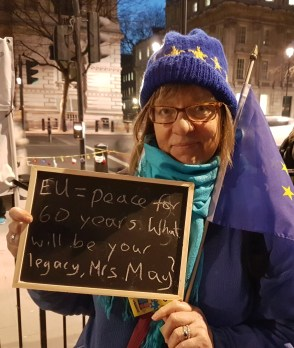 EU = peace for 60 years. what will be your legacy, Mrs May?