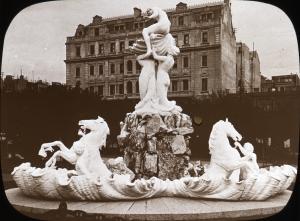 Fuente las Nereides as it was in 1915