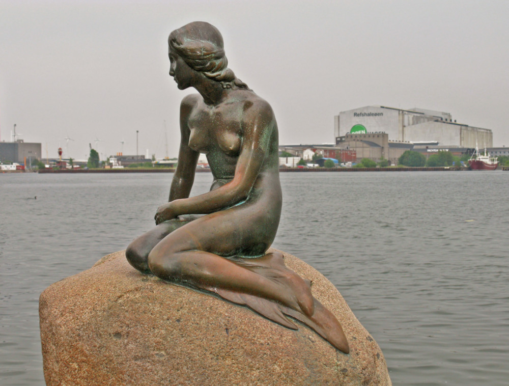 The Little Mermaid statue in Copenhagen, Denmark - Mermaids of Earth