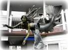The Cayucos Mermaid sculpture
