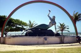 Mermaid Monument on Mermaid Beach