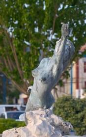Mermaid Fountain on Poros