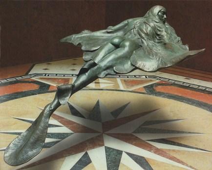 Angel of the Seas mermaid statue