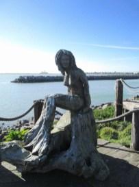 Crescent City Redwood Mermaid