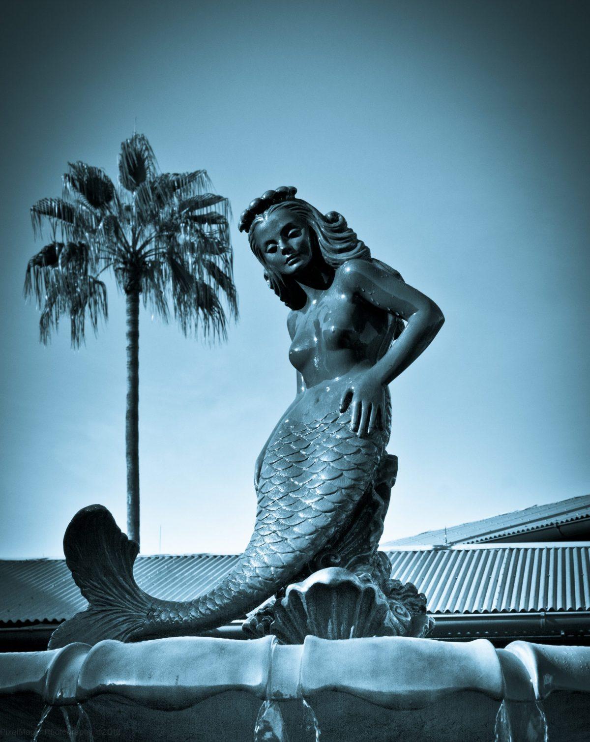 Mermaid Fountain from the Movie Splash