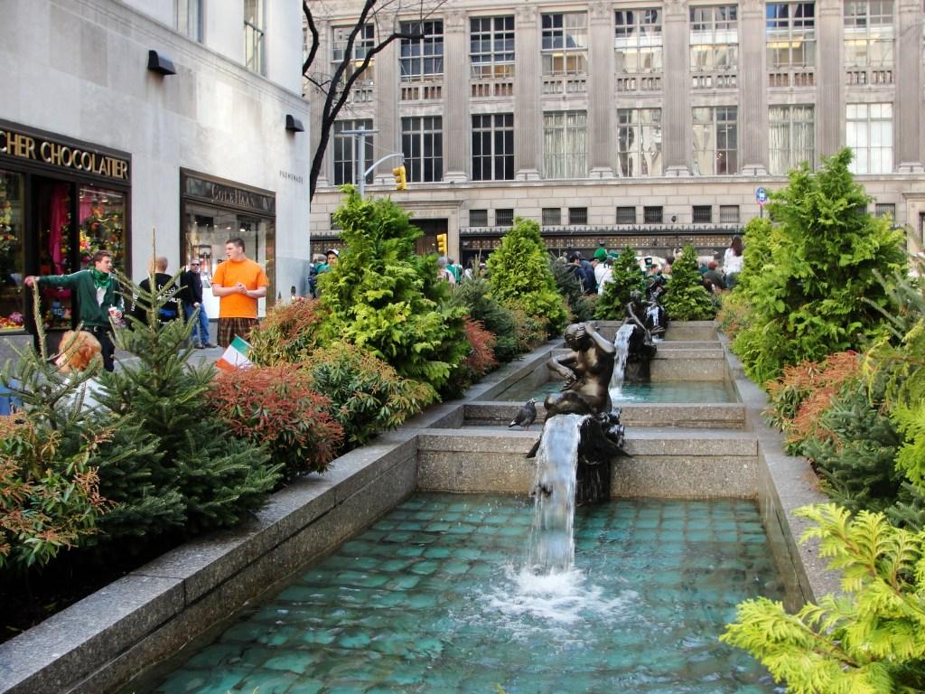 Rockefeller Plaza Gardens