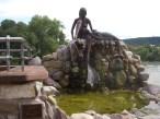 Rheinfelden Mermaid Statue.