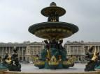 Mermaid statues at Place de la Concorde