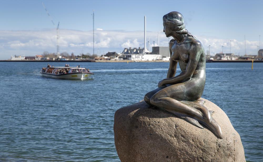 Image result for the mermaid in copenhagen